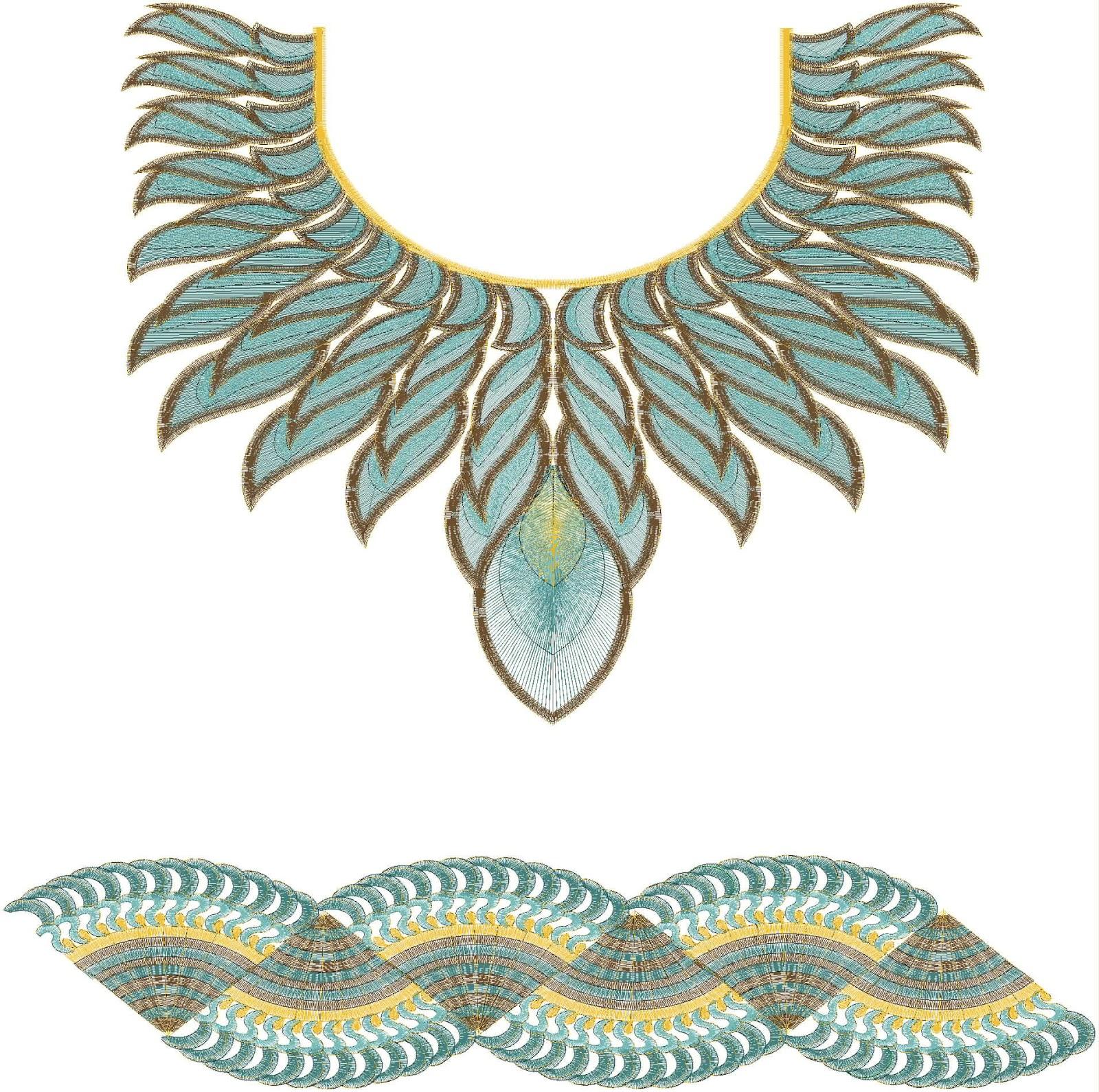 Wilcom Designer Gala Daman Design UA 100007
