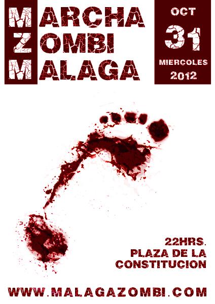 Marcha Zombi Málaga 2012