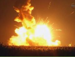 Un cohete sin tripulación estalla al despegar en Estados Unidos