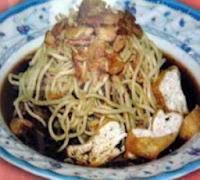 Resep membuat lontong mie Jawa Timur