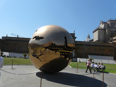 The-Gold-Ball-in-the-courtyard-of-the-Vatican-Museums-Rome-Italy