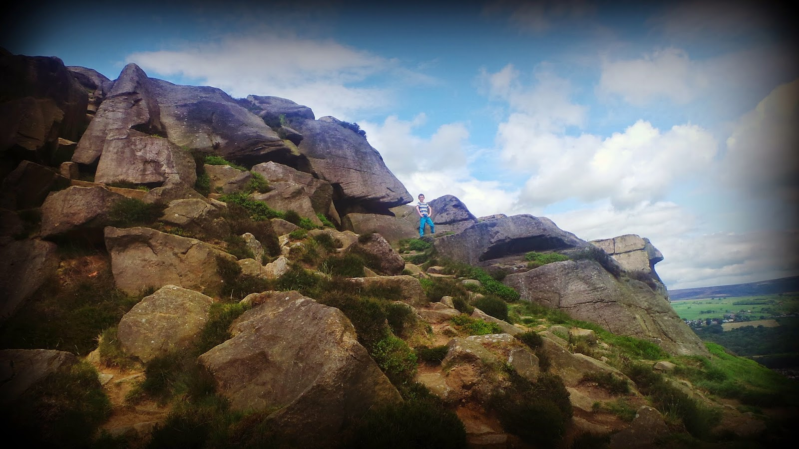 yorkshire rocks exploring