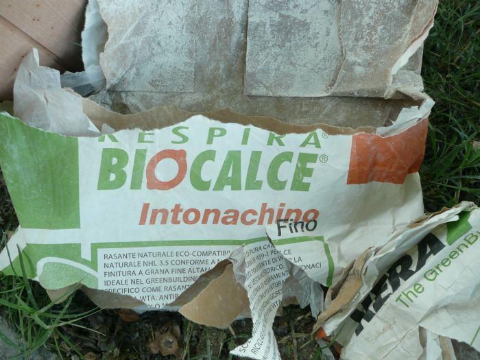 Ecomondo mini guida ai lavori di muratura for Biocalce intonaco