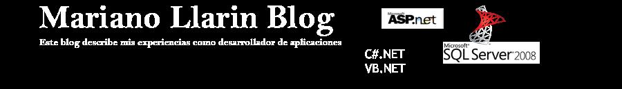 Mariano Llarin Blog