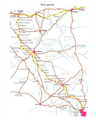 Actualizada la información del Camino de Santiago de Madrid