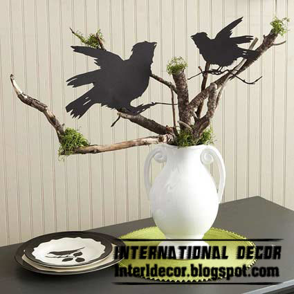 Interior Decor Idea: Uses of tree branches for home decorating ideas