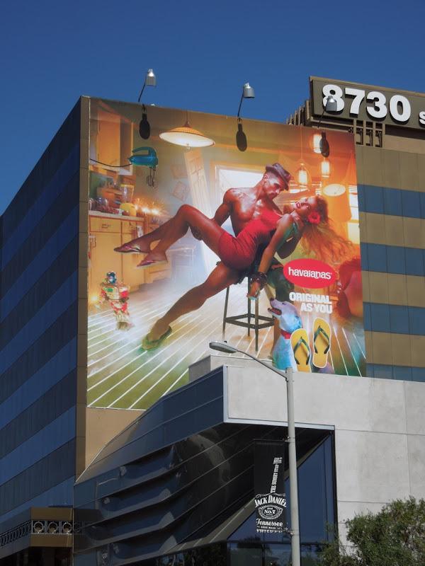 Havaianas Summer 2012 billboard
