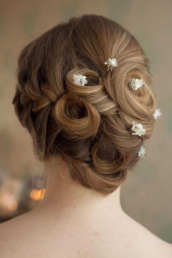 Wedding Hairstyles Fashion | bridal and wedding prom