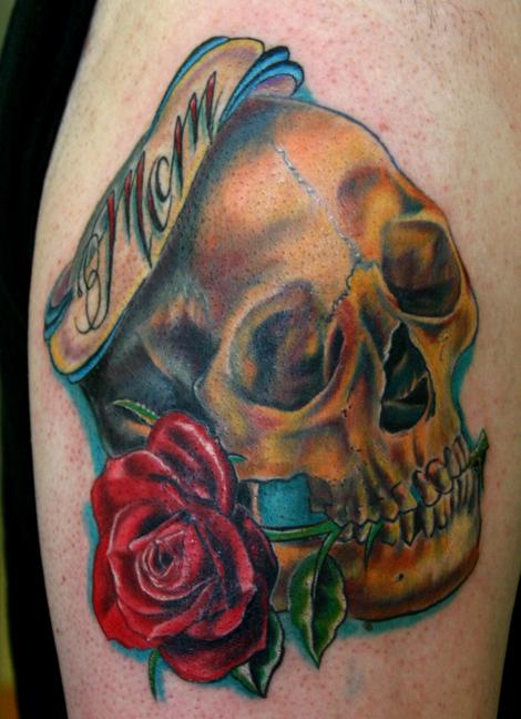 Skull Tattoos Vector clipart