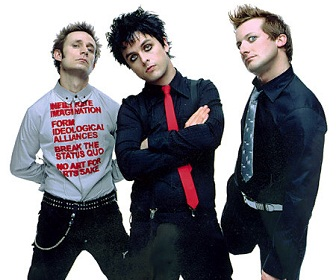 Punk Rock Band Green Day