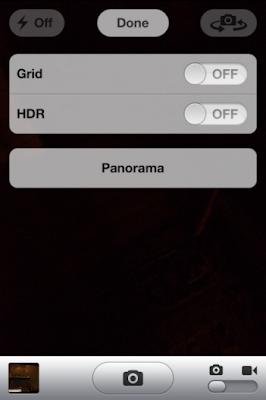 Enable Panorama iOS 5 On Non-Jailbreak iPhone, iPad 2