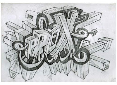 3D Graffiti Sketches
