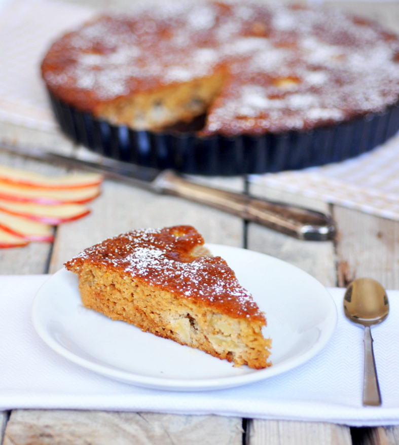 Anja's Food 4 Thought: Apple Lemon Honey Cake