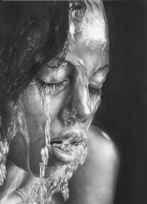 This is not a photo. It's a pencil sketch
