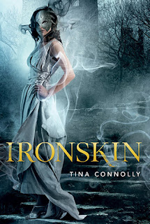 Book cover for Ironskin by Tina Connolly