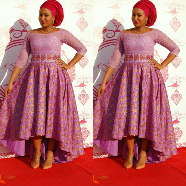 Beautiful Ankara Styles Paired With Red Gele Debonke House Of Fashion