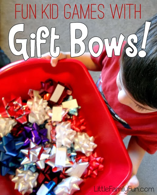 http://www.littlefamilyfun.com/2012/12/christmas-games-with-gift-bows.html