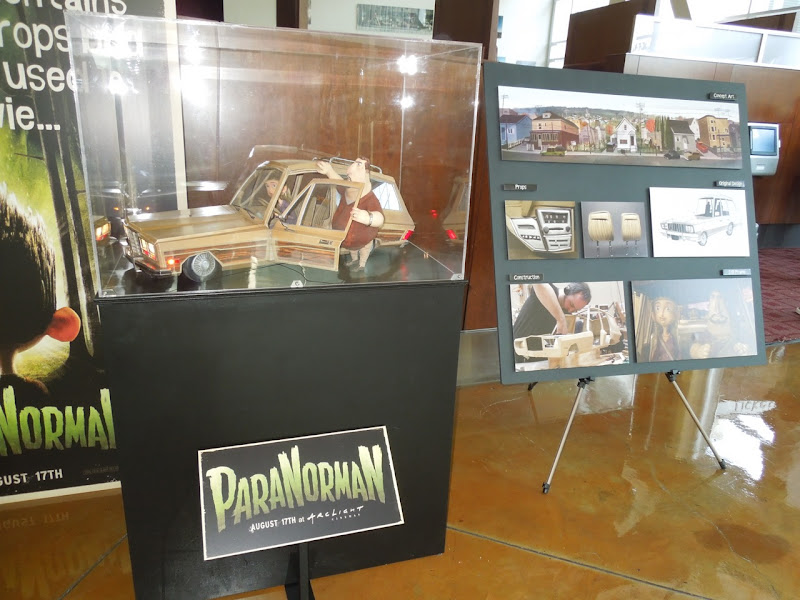 ParaNorman movie display