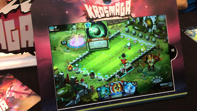 Krosmaga digital board game Essen