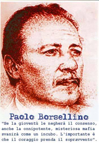 Paolo borsellino uomo di stato e di coraggio for Cosa mettere sulla madia