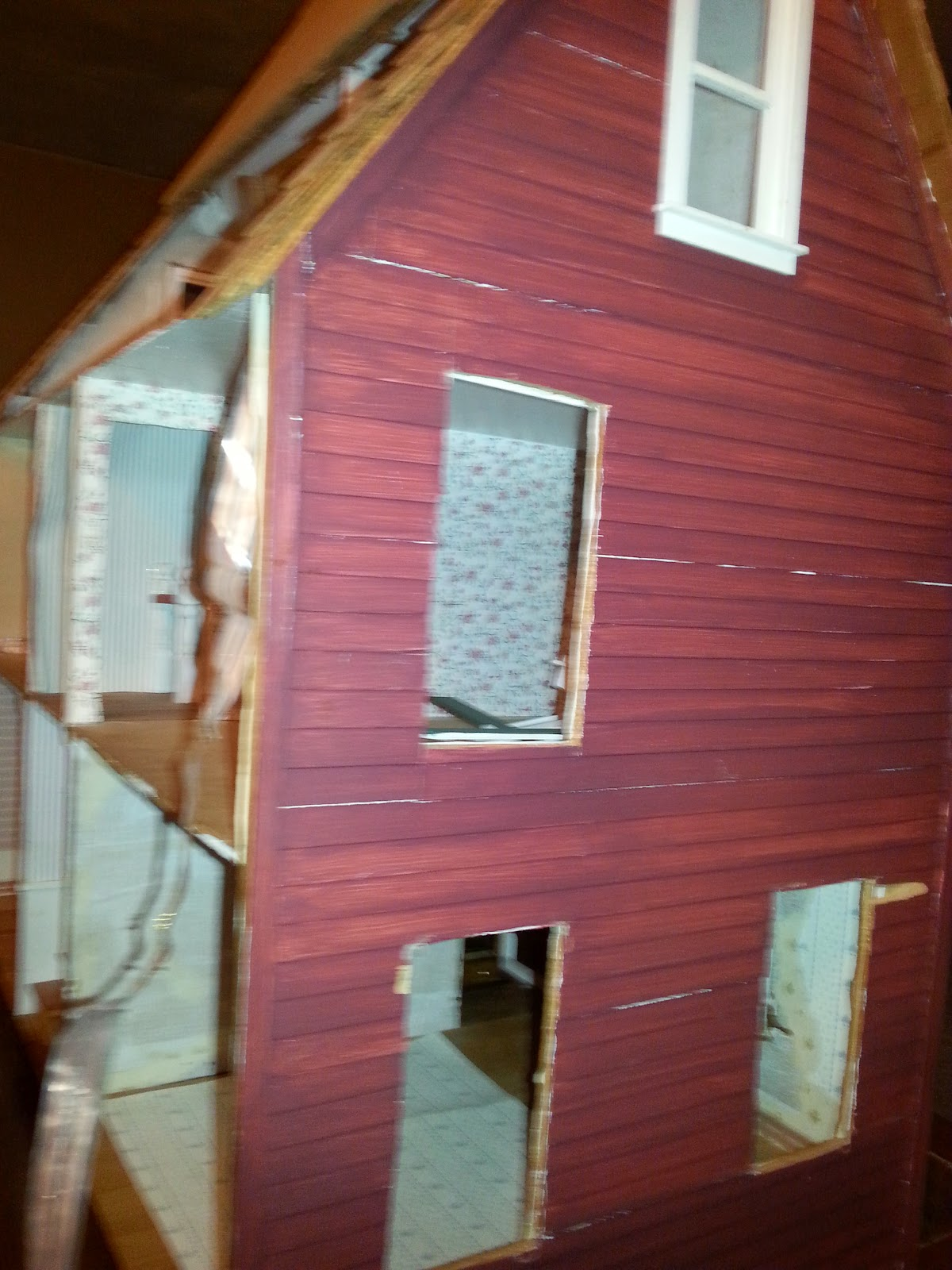 Davenport Street: Destroying My House