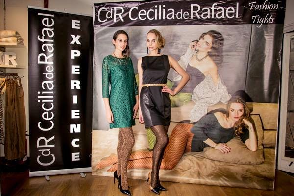Dos propuestas de pantys de Cecilia de Rafael para ir arreglada a una cena