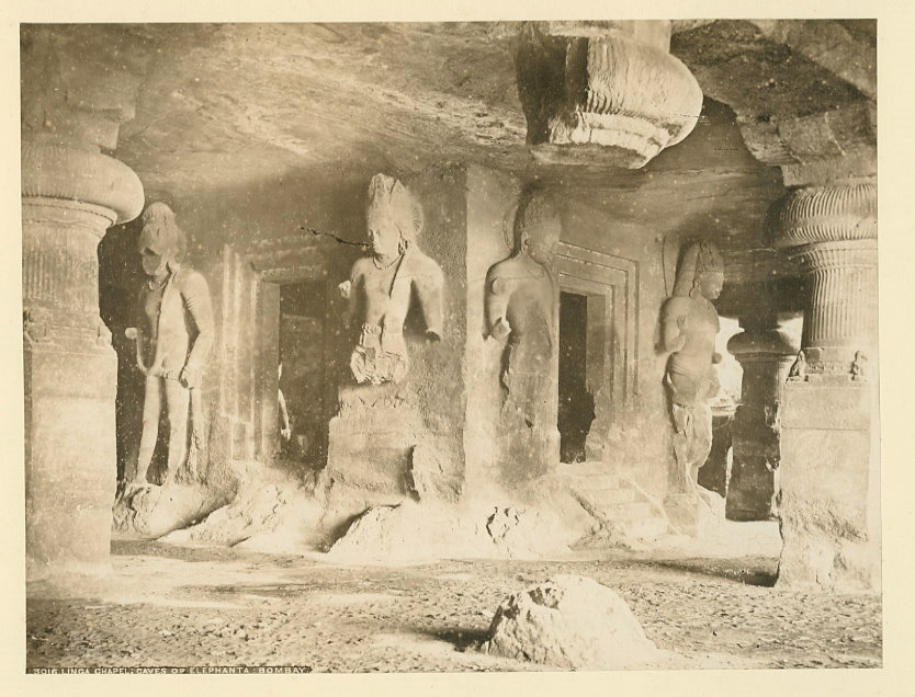 Sculptures in the Caves of Elephanta