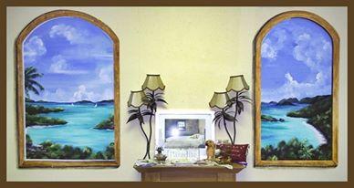 Island mural