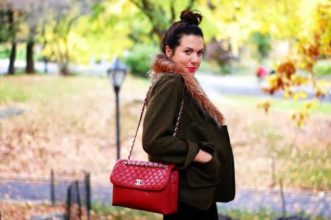 Smythe Faux Fur coat