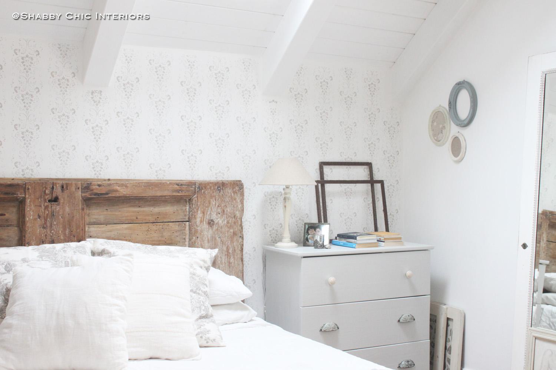 Rullo decorativo come abbellire una parete shabby chic for Abbellire parete