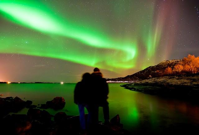 aurora boreal islas lofoten