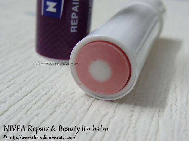 nivea repair and beauty lip balm review2