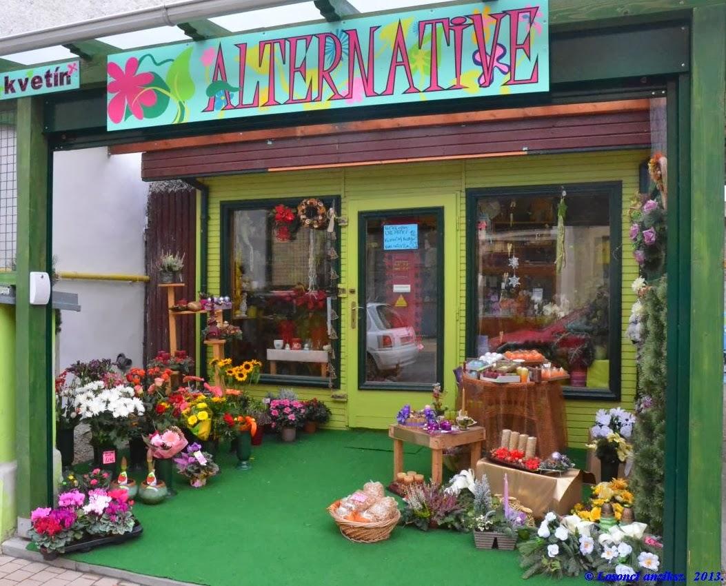 Alternative virágüzlet