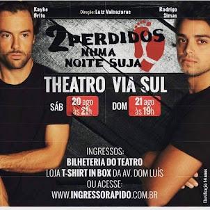 Teatro] 2 Perdidos Numa Noite Suja