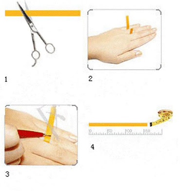 ngukur+jari Cara Mengukur Cincin