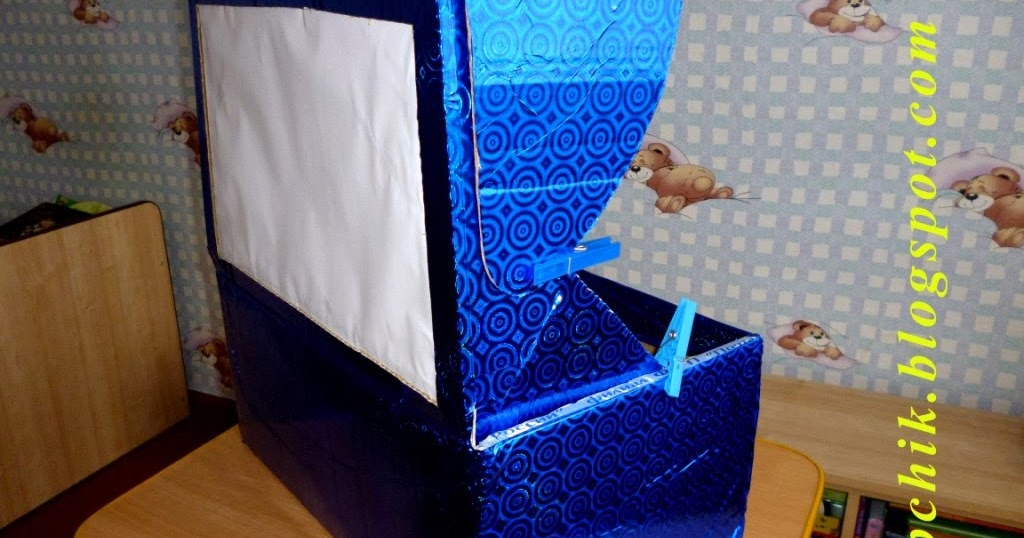 Теневой театр из коробки своими руками
