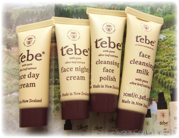 Tebe mini tube samples