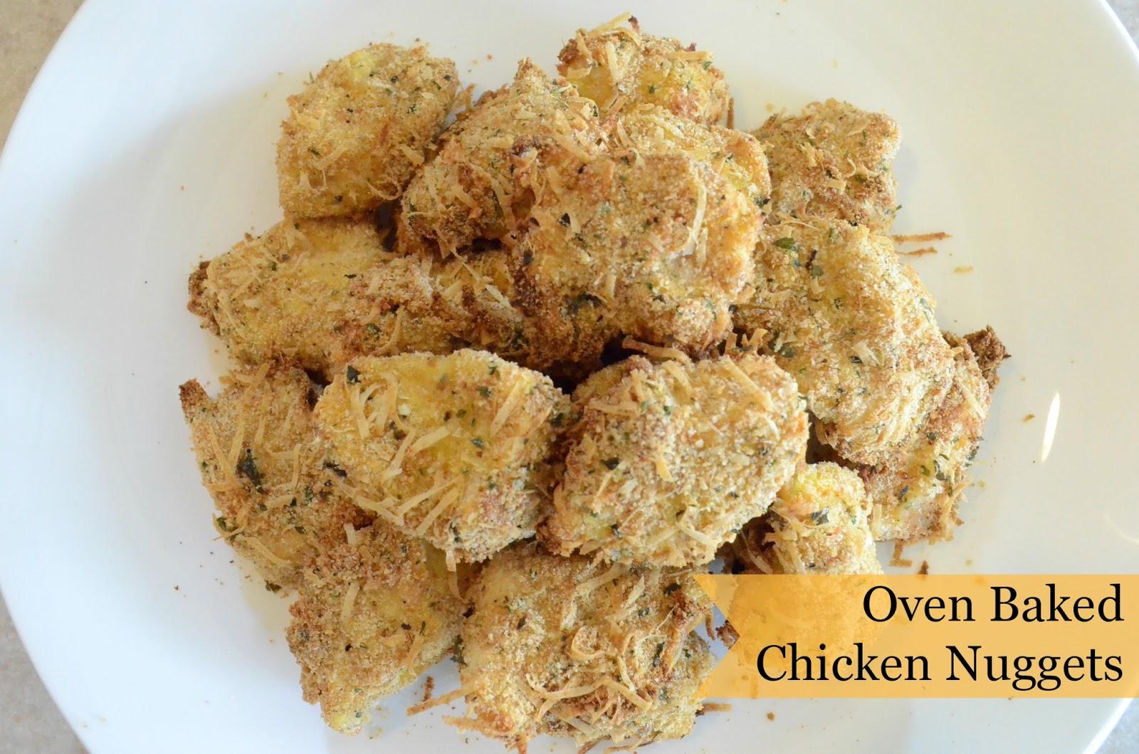 Seasoned Baked Chicken Nuggets Recipe — Dishmaps