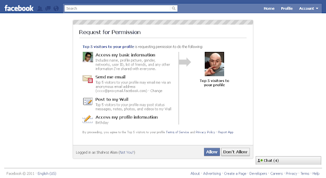 Facebook applications leaked users information