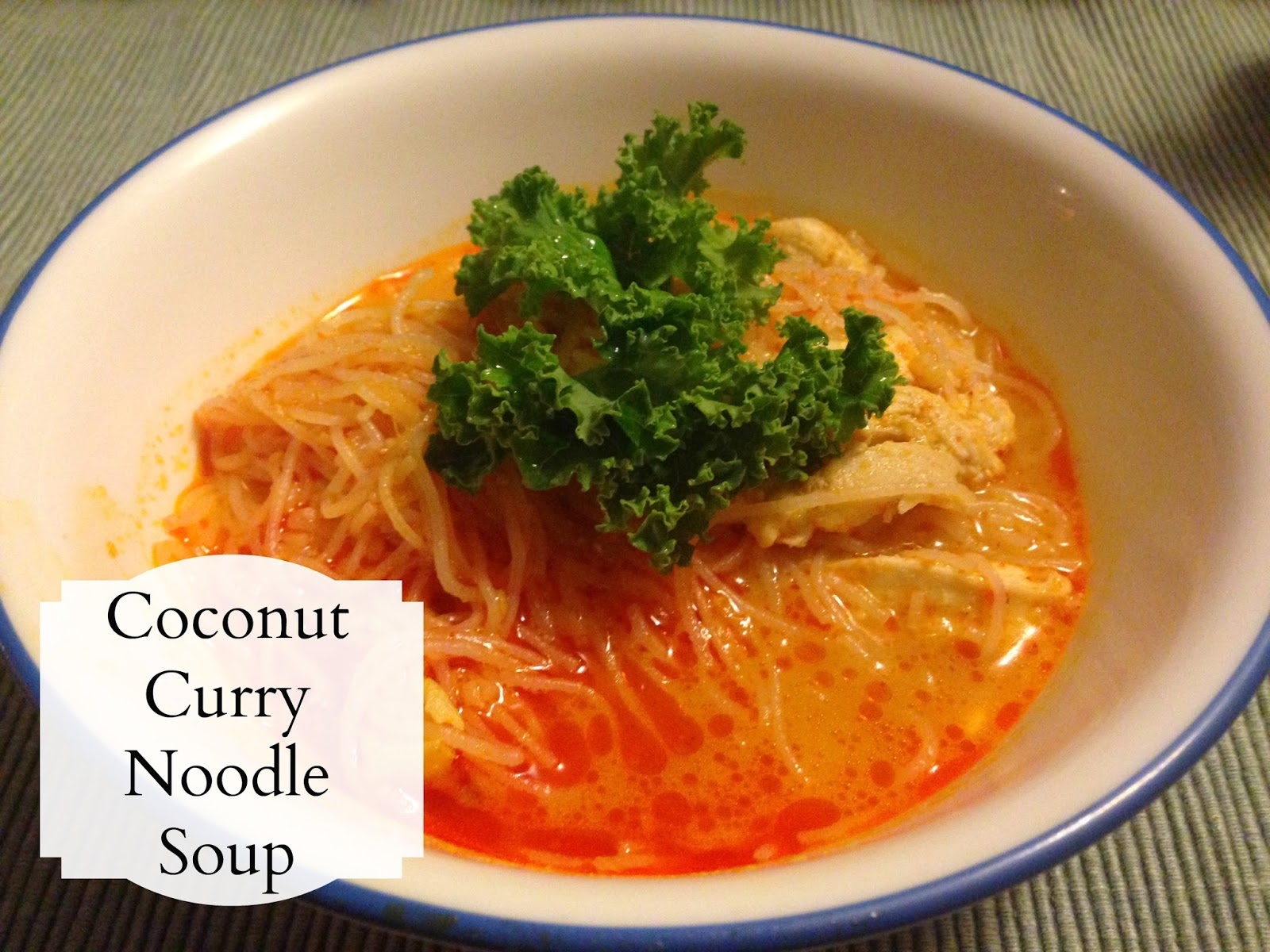 THE REHOMESTEADERS: Coconut Curry Noodle Soup