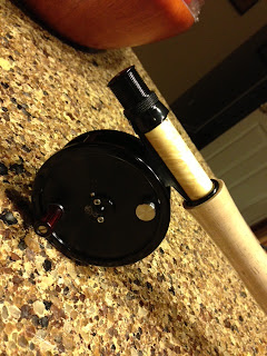 Scott fly rods, abel spey reel, fly fishing