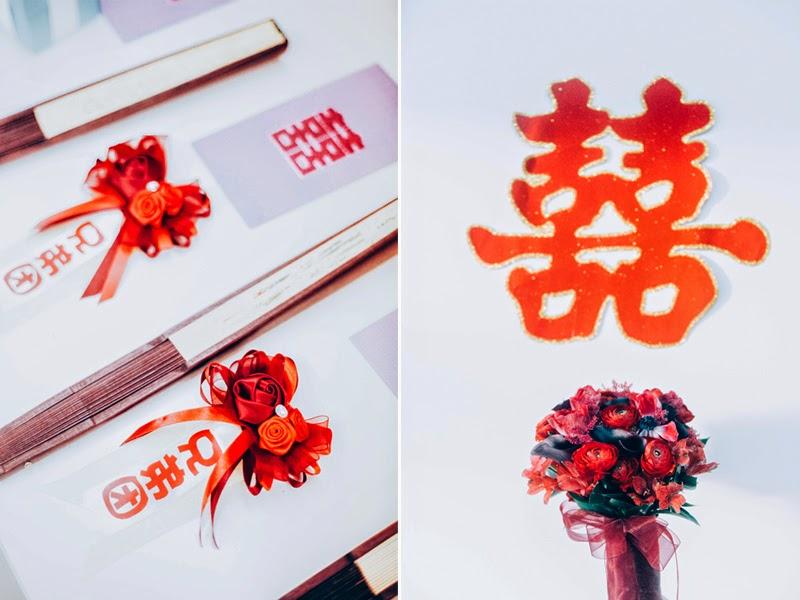 oriental themed wedding at shangri la singapore photo