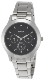 Buy Timex E Class Multi Function Analog Black Dial Women's Watch at RS. 1799 only