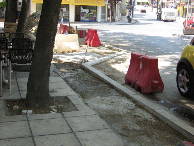 Από πλατεία έγινε δρόμος