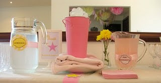 Twinkle Twinkle Little star_ Pink and Yellow Birthday Party