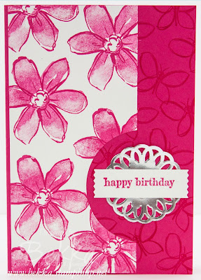Bright Summer Birthday Card featuring the Garden In Bloom Stamp Set from Stampin' Up! UK
