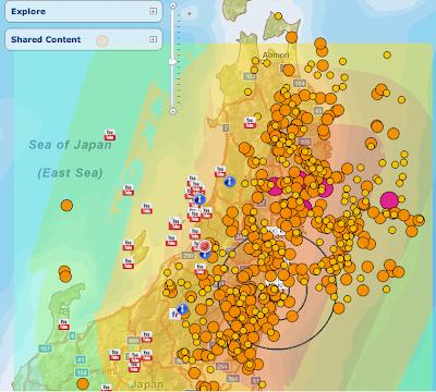 As We Were Saying Japan Al Jazeera S Interactive Map