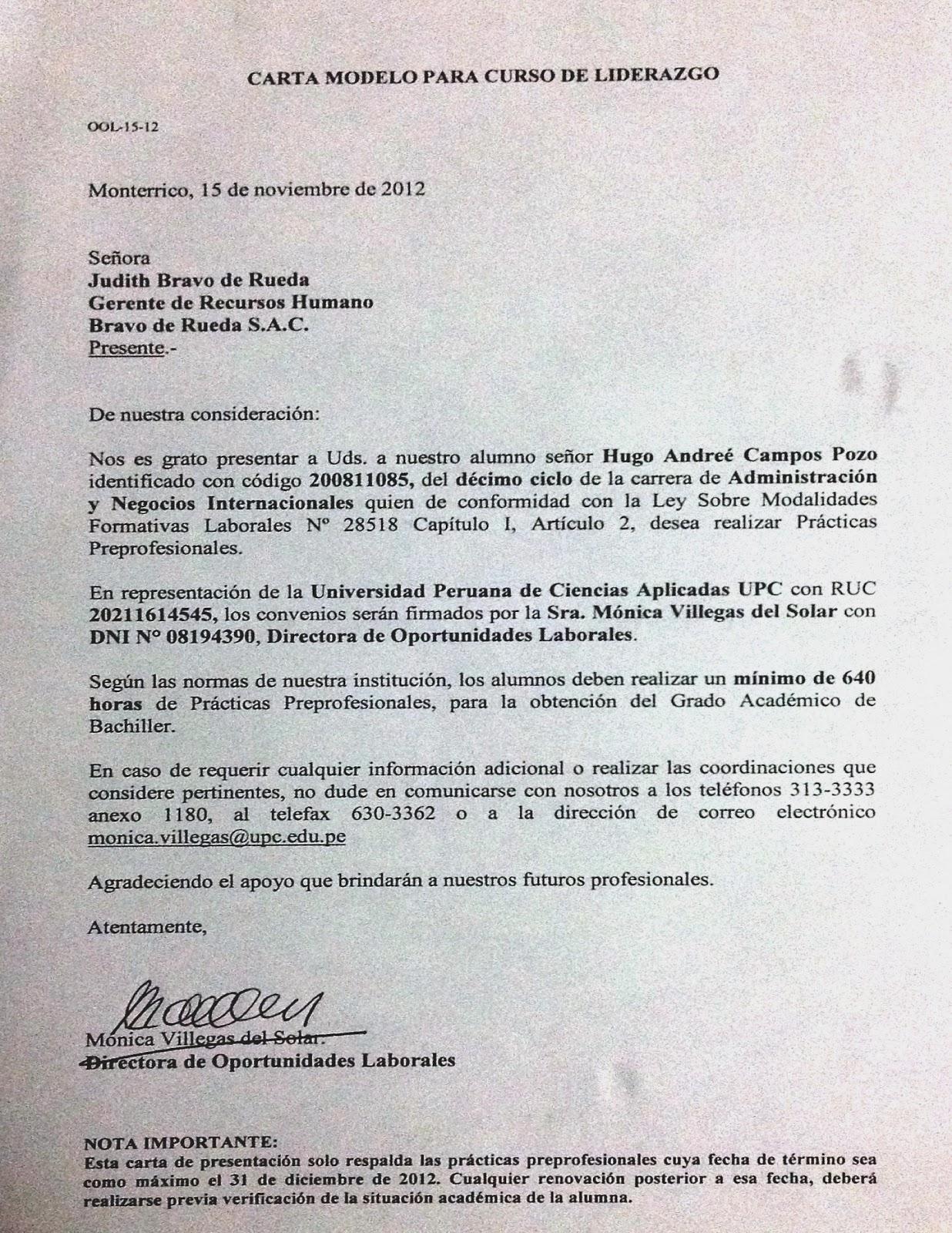 Hugo Andreé Campos Pozo : noviembre 2012