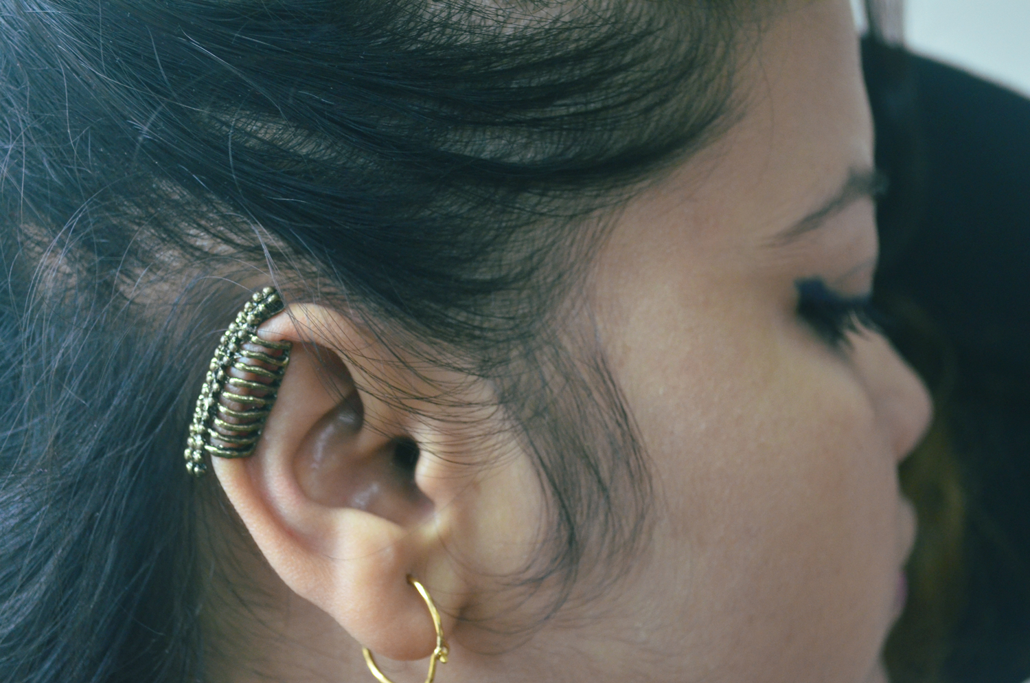 Born Pretty vertebrae ear cuff