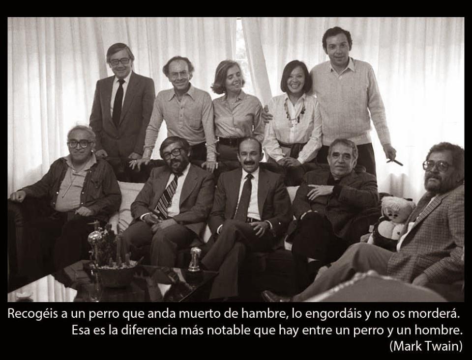 Foto Prohibida Salinas de Gortari García Marquez